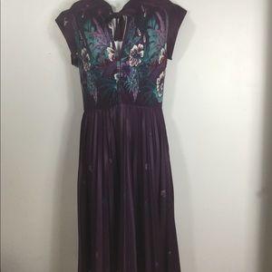 Rare Vintage Queen's Row Inc Dress